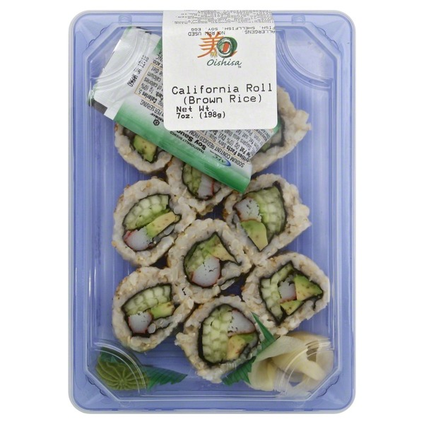 Afc California Roll Brown Rice 10 5 Oz From Publix
