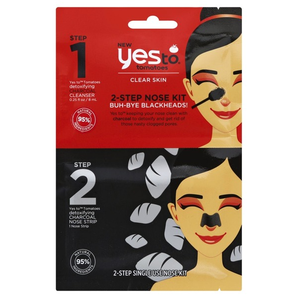 Yes To Nose Kit, 2-Step, Buh-Bye Blackheads! (1 ea) from Stop & Shop