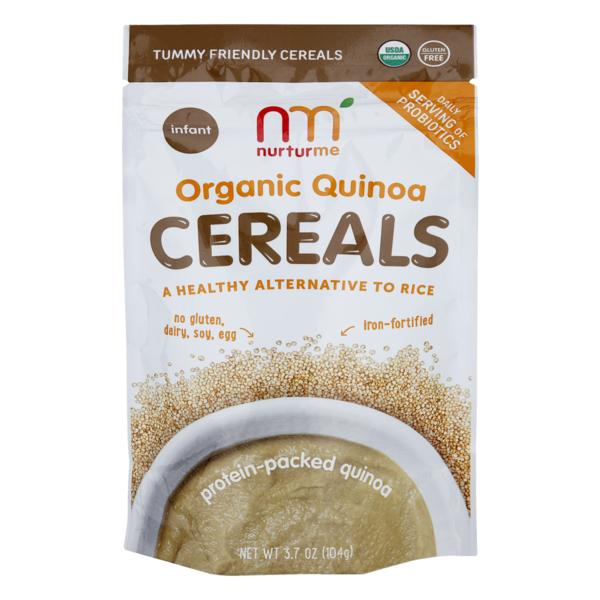 nurturme Organic Quinoa Cereals (3 7 oz) from Giant Food - Instacart