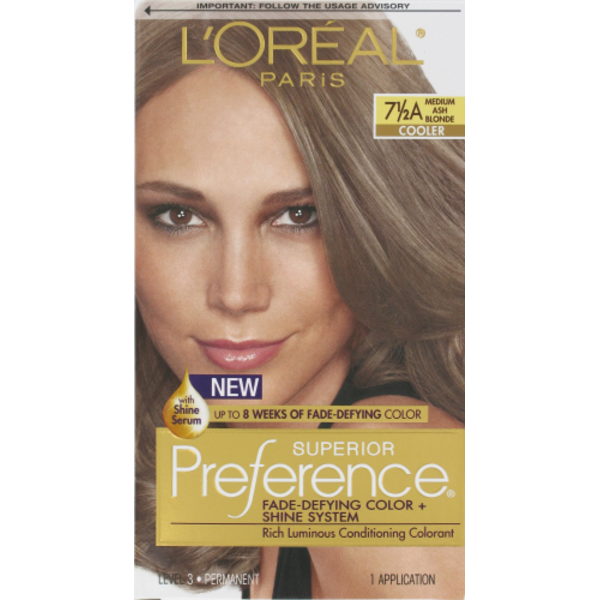 Superior Preference Cooler 7 12a Medium Ash Blonde Hair Color From