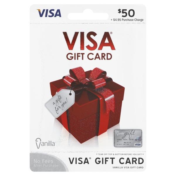 visa gift card 50 - Cvs Visa Gift Card