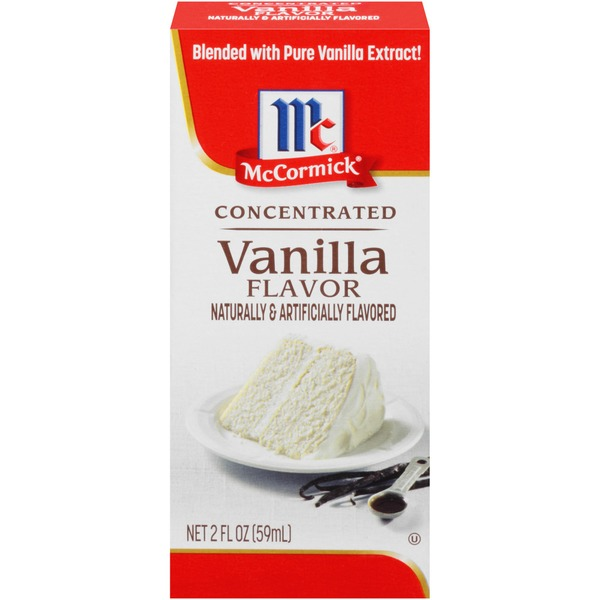 McCormick® Concentrated Vanilla Flavor (2 fl oz) from
