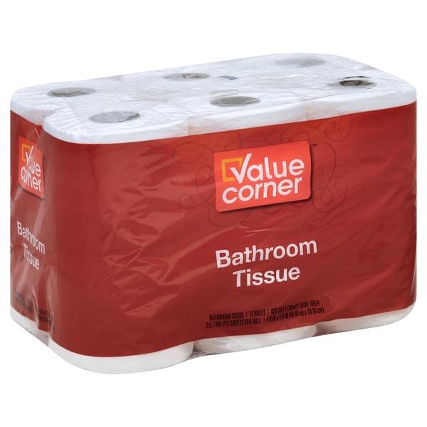Value Corner Bath Tissue