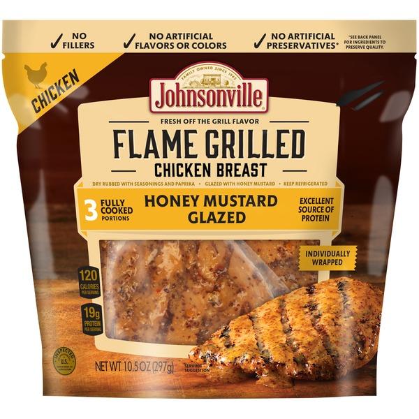 Johnsonville Flame Grilled Honey Mustard Glazed Johnsonville Flame