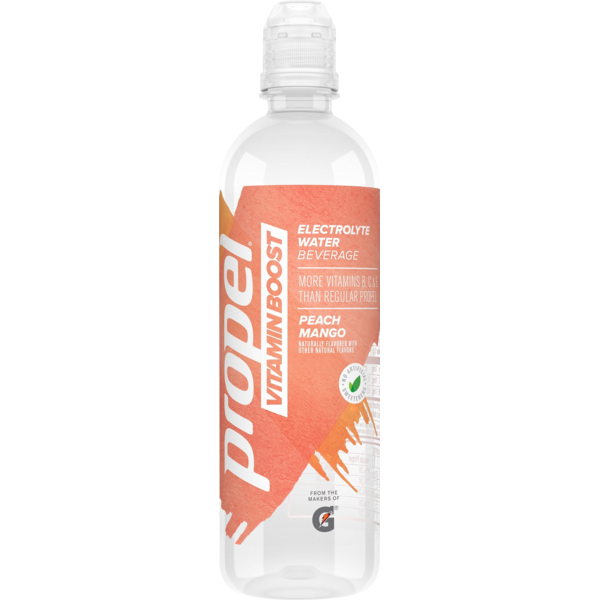 636299e7b5 Propel Vitamin Boost Electrolyte Water Beverage Peach Mango (20 fl ...