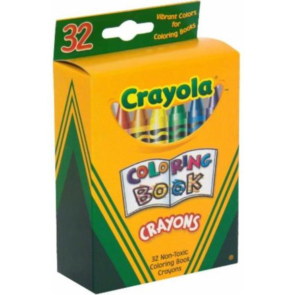 Crayola Coloring Book Crayons (32 ct) from Ralphs - Instacart