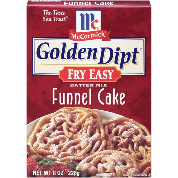 Mccormick Golden Dipt Funnel Cake Batter Mix