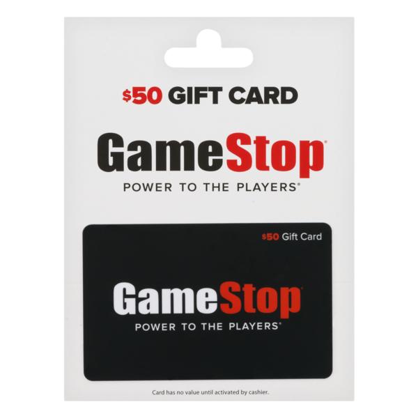 Gamestop Gift Card 50 1 Ct From Albertsons Instacart