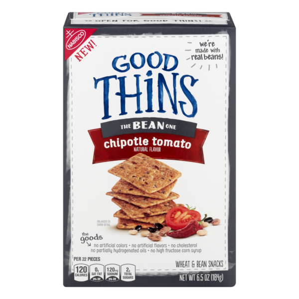 Good Thins The Bean One Snacks Chipotle Tomato From Publix Instacart