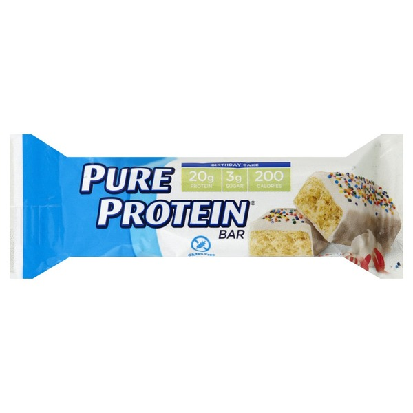 Pure Protein Protein Bar Birthday Cake 176 Oz From Shoppers