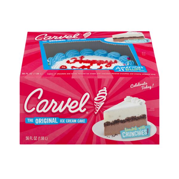 Stupendous Carvel Ice Cream Cake 56 Fl Oz Instacart Funny Birthday Cards Online Elaedamsfinfo