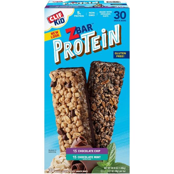 Clif Kid® ZBar Protein Chocolate Chip & Chocolate Mint