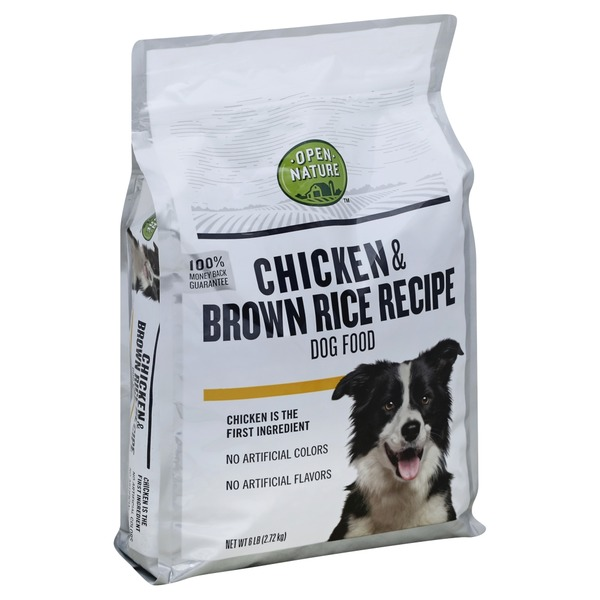 Open Nature Dog Food Chicken Brown Rice Recipe From Albertsons