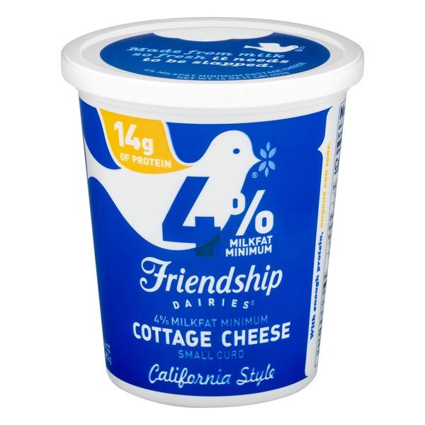 Swell Friendship Dairies 4 Milkfat Minimum Cottage Cheese Small Home Interior And Landscaping Fragforummapetitesourisinfo