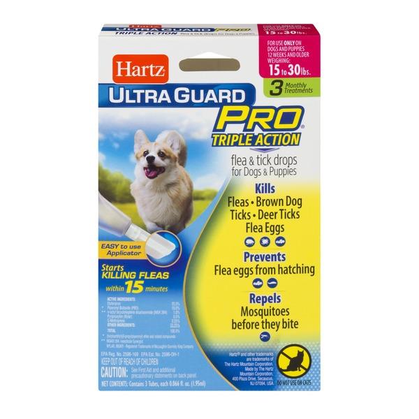 Hartz Ultra Guard Pro Flea Tick Drops For Dogs And Puppies