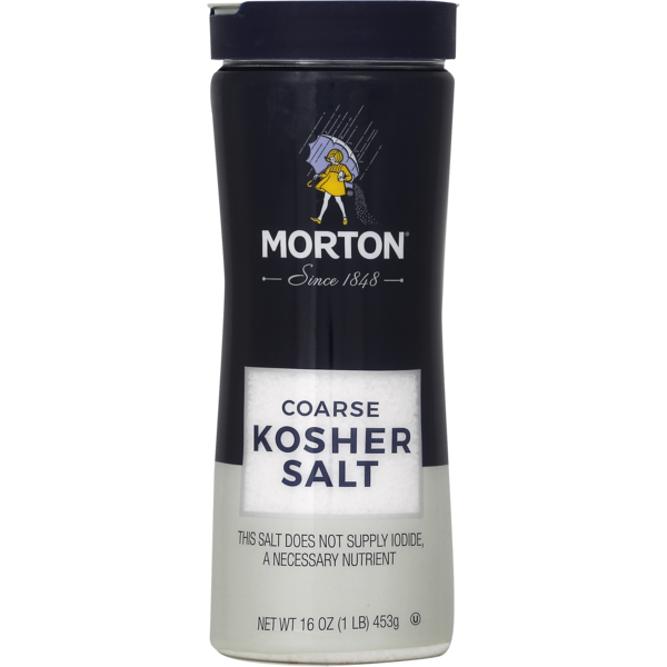 Morton Salt, Kosher, Coarse, Bottle (16 oz) from Food Lion