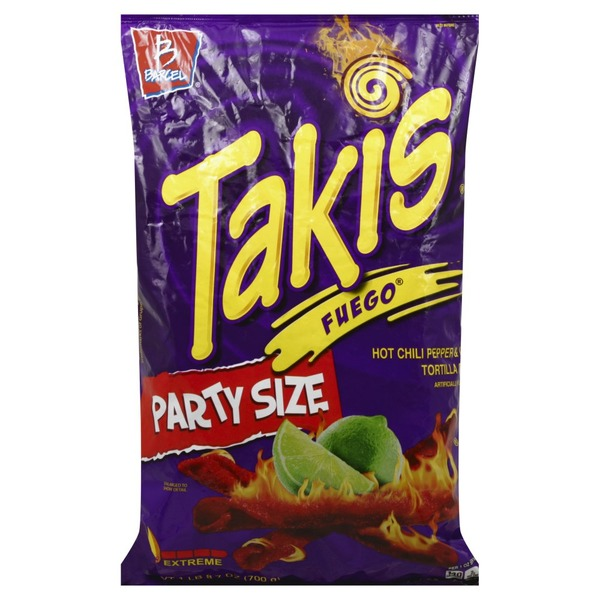 Barcel Takis Fuego Hot Chili Lime Tortilla Chips From Vons Instacart