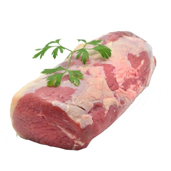Beef round bottom rump roast