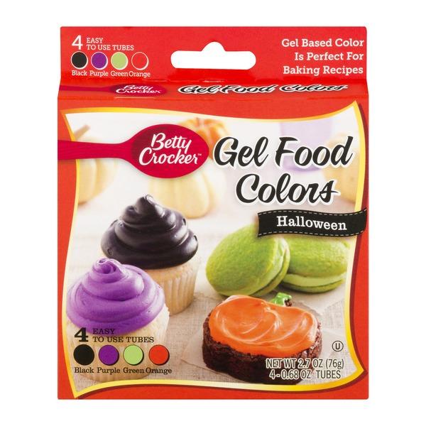 Betty Crocker Gel Food Colors Halloween - 4 CT (0.68 oz) from Cub ...