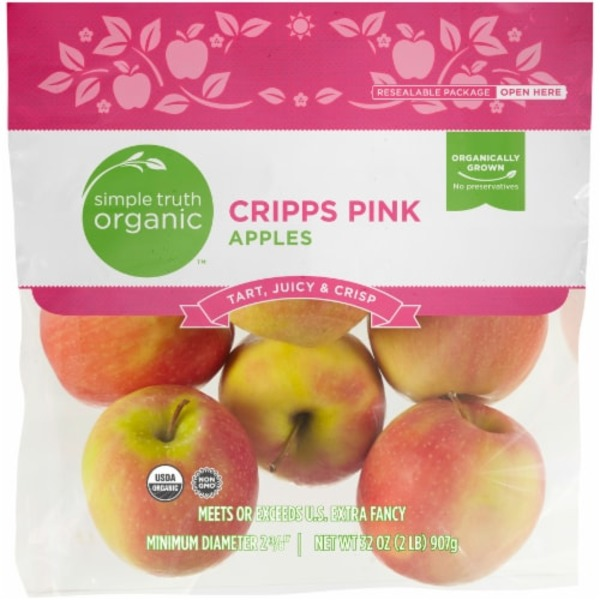 Simple Truth Organic Cripps Pink Apples (2 lb) from