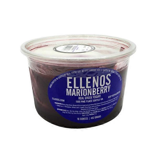 Ellenos Marionberry Real Greek Yogurt (16 oz) from New