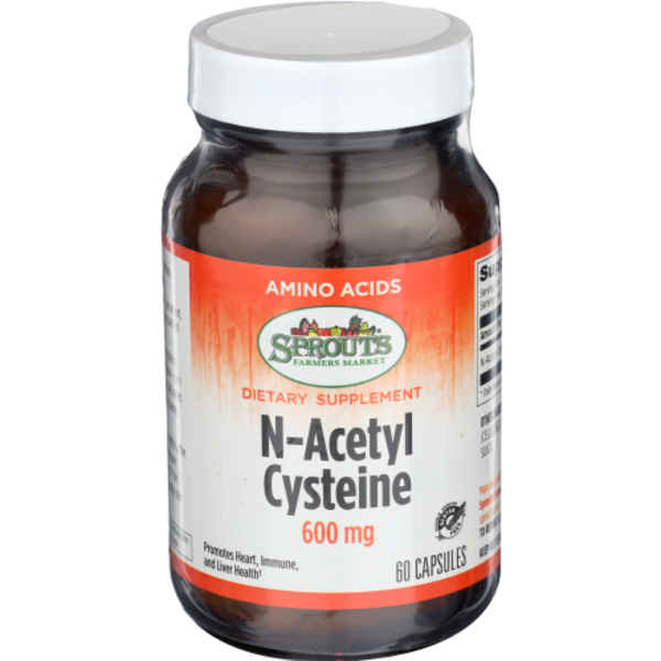 Sprouts 600 Mg N-Acetylcysteine (60 ct) from Sprouts Farmers Market