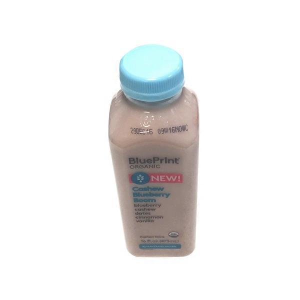 Blueprint juice organic cashew blueberry boom drink 16 fl oz from blueprint juice organic cashew blueberry boom drink malvernweather Images
