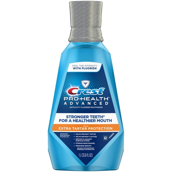 crest pro health advanced with extra tartar protection anticavity
