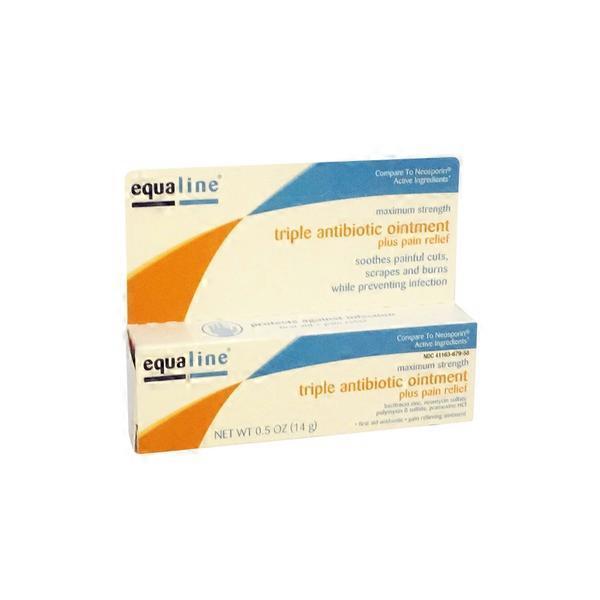 Equaline Maximum Strength Antibiotic Ointment Plus Pain Relief