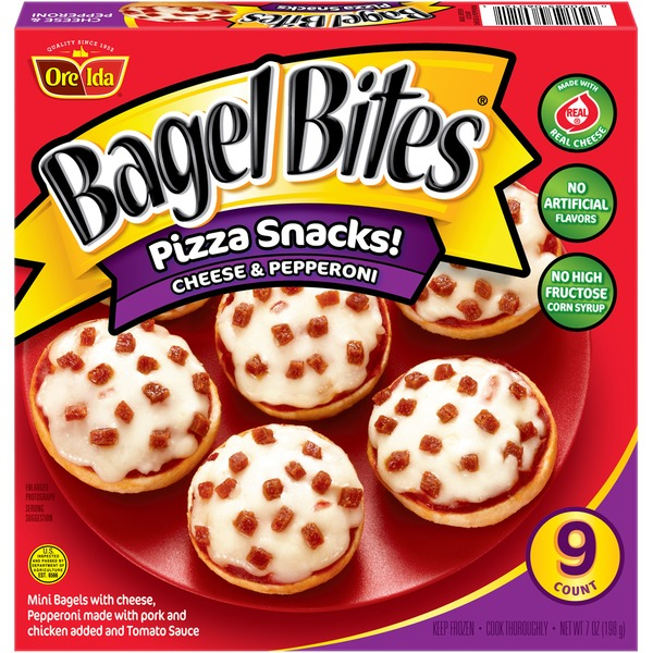 Bagel Bites Cheese Pepperoni Pizza Snacks From Kroger Instacart