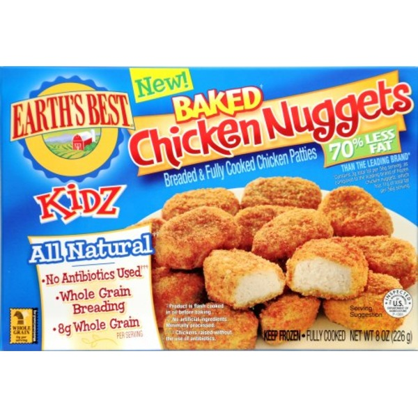 Earths Best Kidz Baked Chicken Nuggets From Whole Foods Market