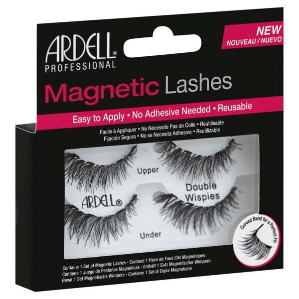 99572774af1 Ardell Black Double Wispies Magnetic Eyelashes (each) from Albertsons -  Instacart