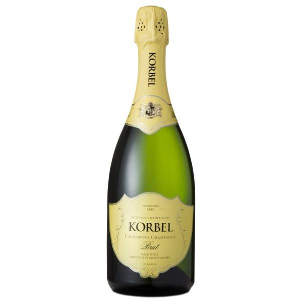 Korbel Brut Organic California Champagne