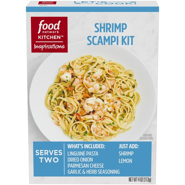 Food Network Kitchen Inspirations Shrimp Scampi Meal Kit From