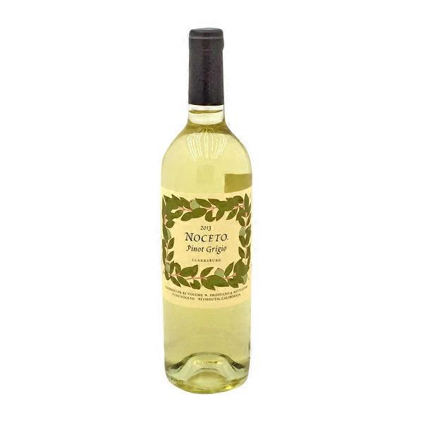 Noceto 2013 Clarksburg Pinot Grigio Wine 750 Ml Instacart