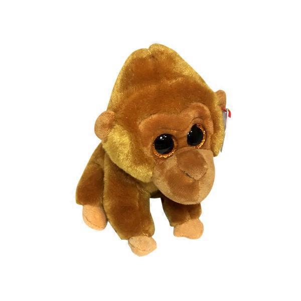 5b540777c53 Ty Beanie Boos Monroe Gorilla Plush Tan Regular from Tom Thumb ...