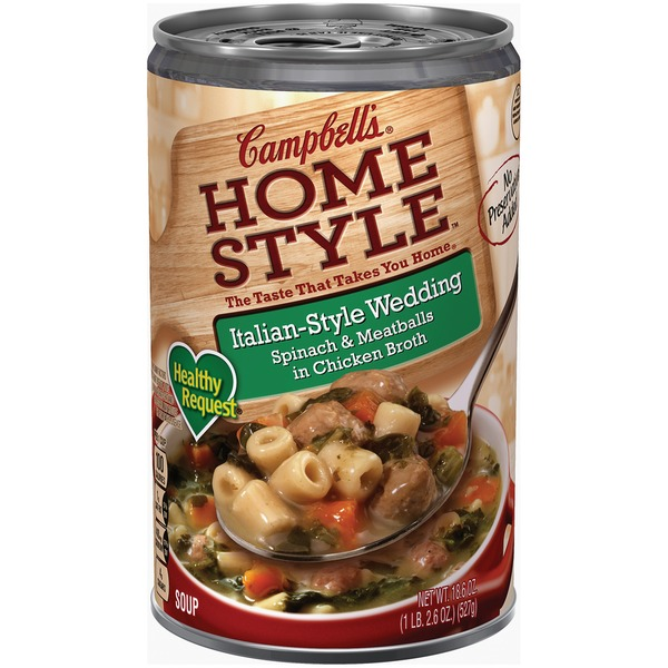 Italian Wedding Soup Can.Campbell S Homestyle Italian Style Wedding Soup 18 6 Oz