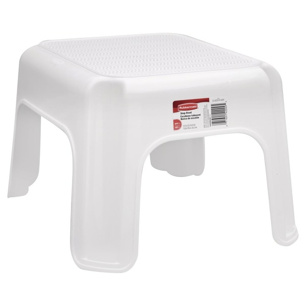 Fantastic Rubbermaid Step Stool White 1 Each From Shaw S Instacart Pdpeps Interior Chair Design Pdpepsorg