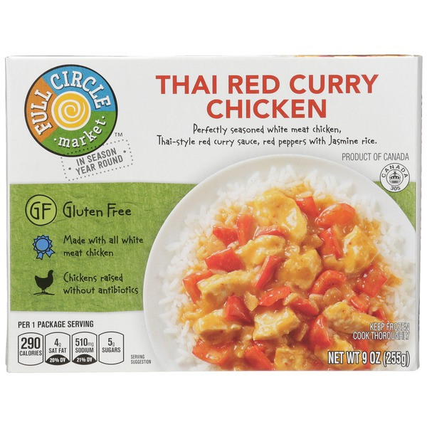 Full Circle Thai Red Curry Chicken From Lowes Foods Instacart