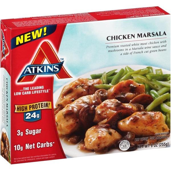 Atkins Frozen Atkins Chicken Marsala From Safeway Instacart
