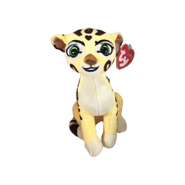Ty Regular Disney The Lion Guard Fuli Cheetah Plush Toy From Cub