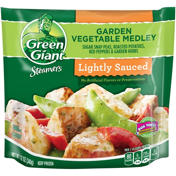 Superieur Green Giant Steamers Lightly Sauced Garden Vegetable Medley Vegetables