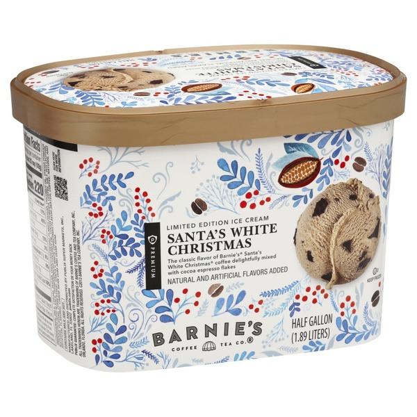 Christmas Flavors.Publix Premium Ice Cream Santa S White Christmas 0 5 Gal