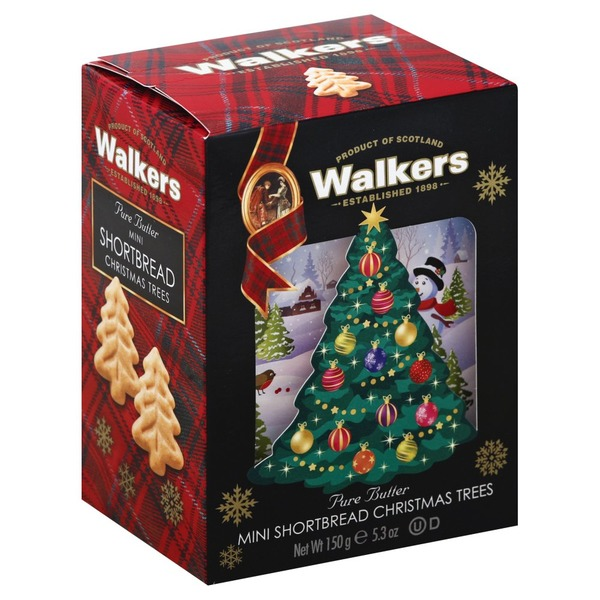 Albertsons Christmas Hours.Walkers Shortbread Pure Butter Mini Christmas Trees From
