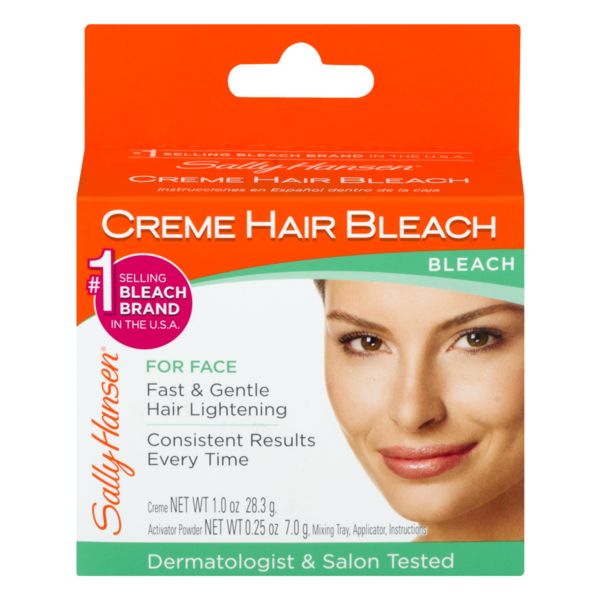 Sally Hansen Creme Hair Bleach For Face 1 Oz Instacart