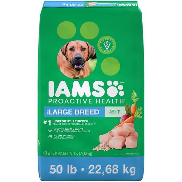 Iams proactive health large breed adult dog food 50 lb for Costco adult dog food
