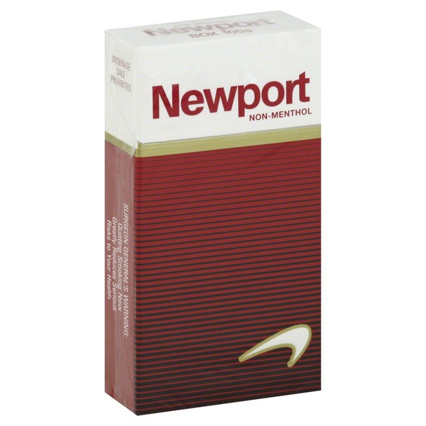 Newport Cigarettes, Non-Menthol, 100s, Box (1 each) from