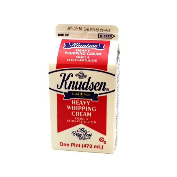 Knudsen Heavy Whipping Cream (16 fl oz) from Stater Bros ...