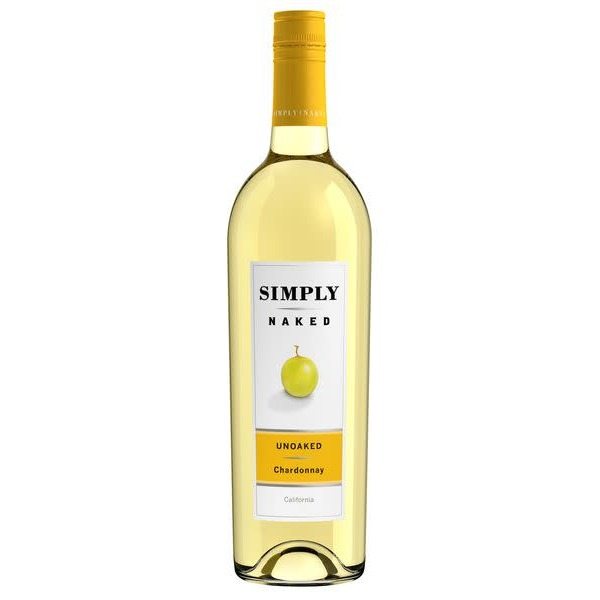 Simply Naked Chardonnay White Wine