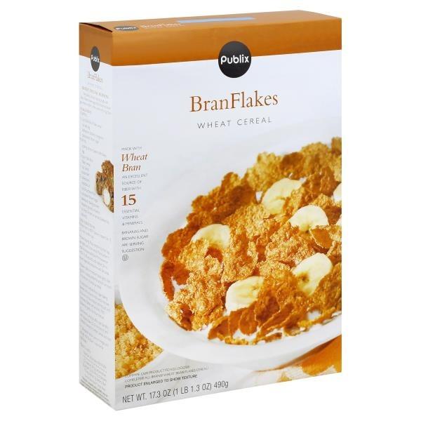 publix bran flakes wheat cereal 17 3 oz from publix instacart